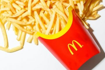 fries from mcdonalds