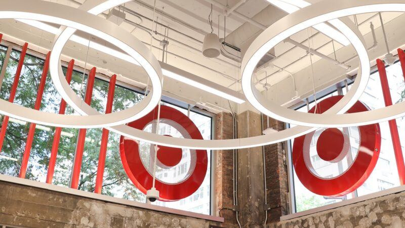 Why did Target change its logo so often?